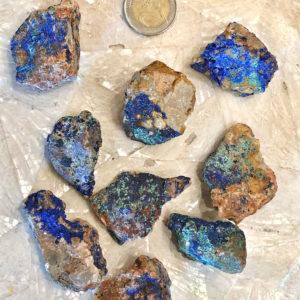 Azzurite Malachite grezza