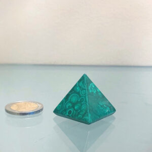 PIRAMIDE in Malachite