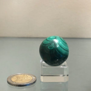 Sfera in Malachite