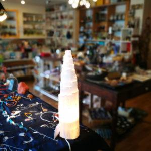 Lampade di Selenite