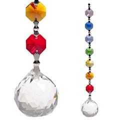 Sun catcher: Cristalli chakra Feng Shui Unità