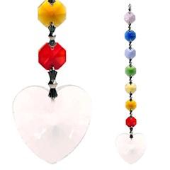 Sun catcher: Cristalli chakra Feng-Shui Metta