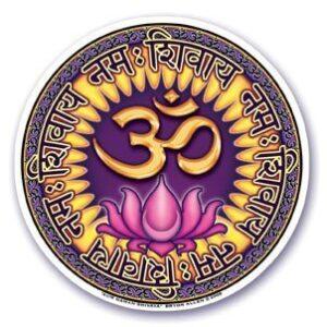 Adesivo Ohm Namah Shivaya