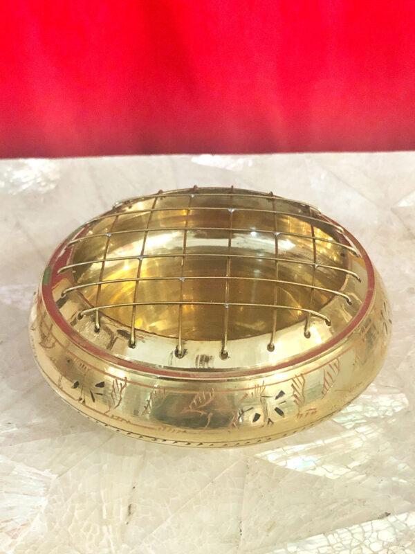 Braciere ottone diametro 11,5