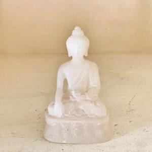 Buddha Sakyamuni bianco 9cm