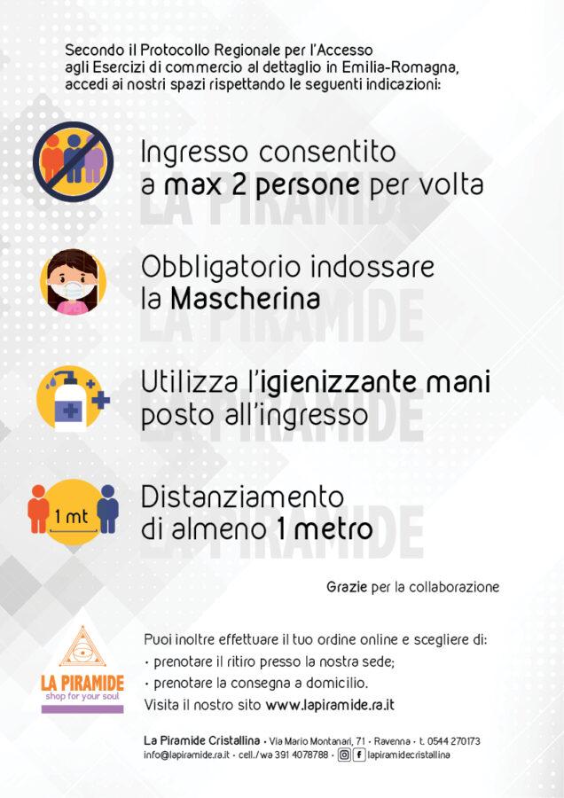 Infografica Protocollo ER Riapertura 18 Maggio