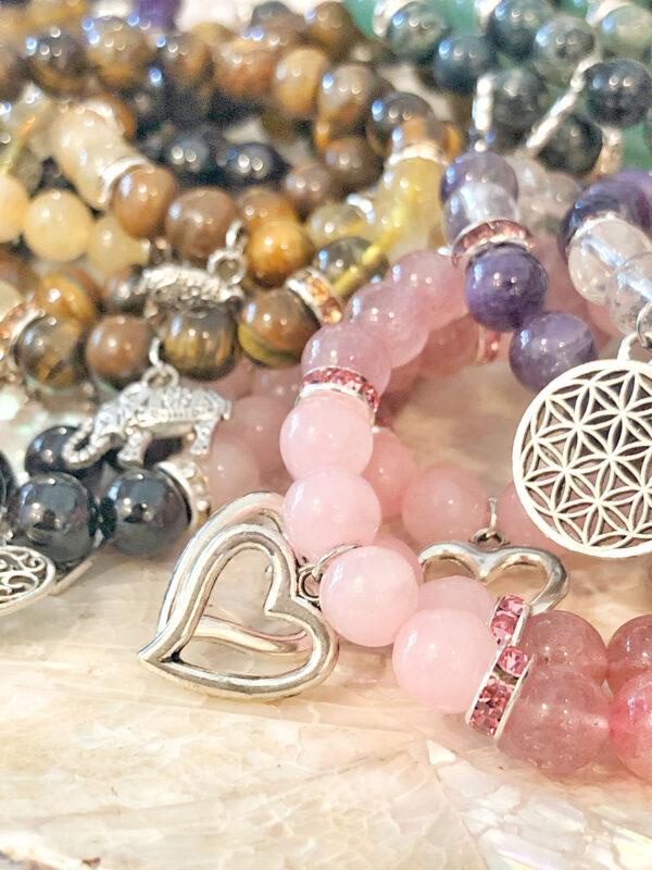 bracciali con Simboli e pietre