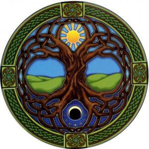 Adesivo Albero della Vita Sole Luna