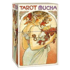 Tarot Mucha scatola