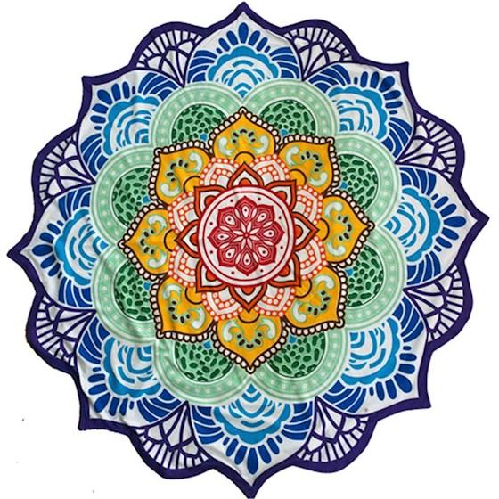 Telo Mandala 7 chakra aperto