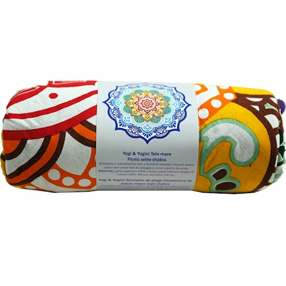 Telo Mandala 7 chakra chiuso