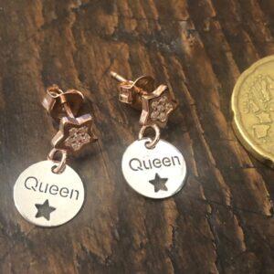 Orecchini Queen