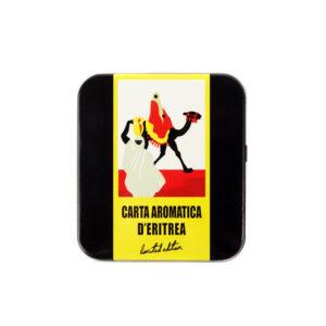 CARTA AROMATICA D'ERITREA® IN SCATOLA DI METALLO