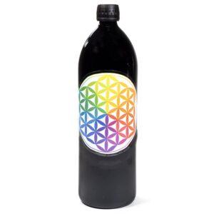 bottiglia vetro Miron Fiored ella Vita Multicolor