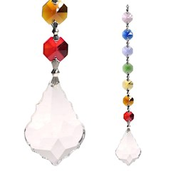 Sun catcher: Cristalli chakra Feng-Shui Harmony