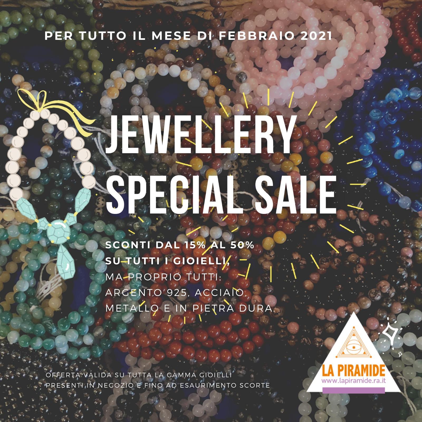 Sconti dal 15% al 50% su tutto il mondo gioielli