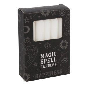 Magic Spell Candles BIANCO felicità