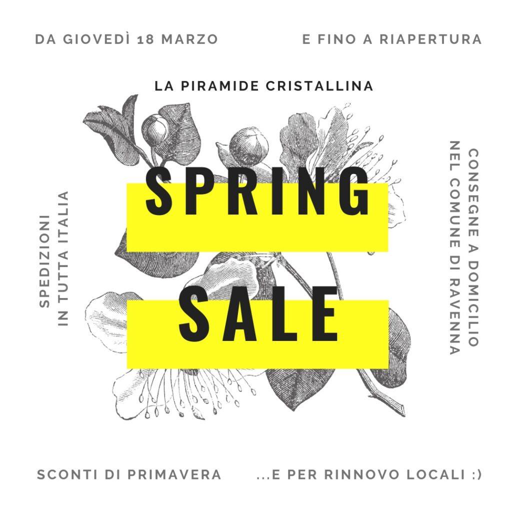 Spring Sale La Piramide Cristallina Marzo Aprile 2021